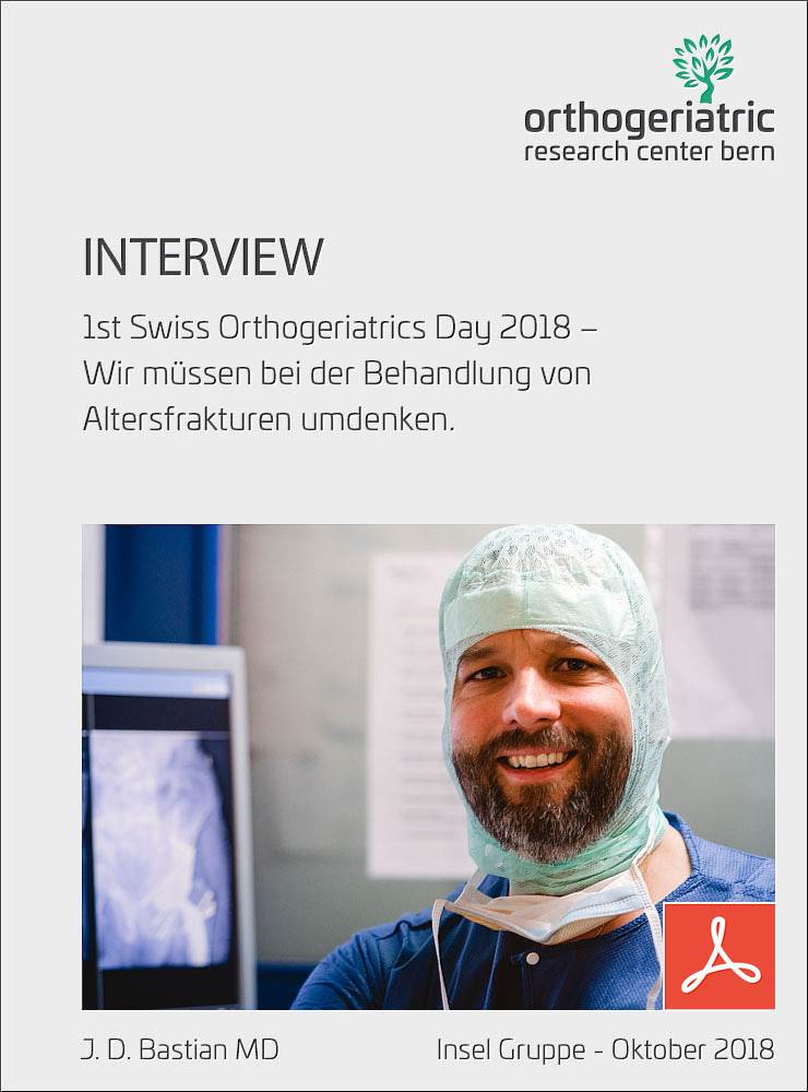 Interview 1st Orthogeriatrics Day 2018